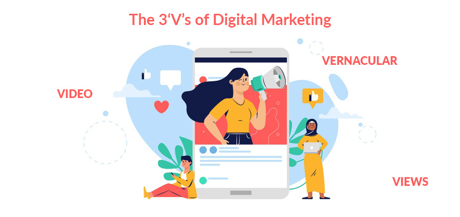 The 3'V's of Digital Marketing