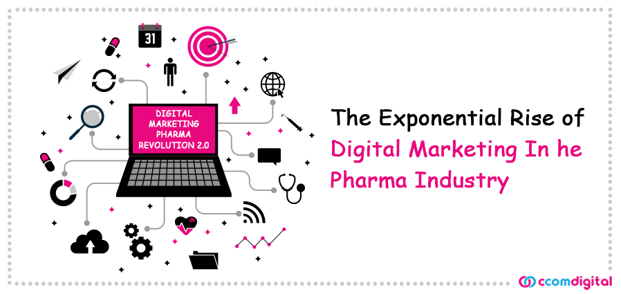 CCom_Blog_The Exponential Rise of DIgital Marketing In The Pharma Industry_10 July 20
